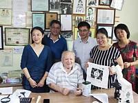 Официальный визит представителей Академии Наук Китая